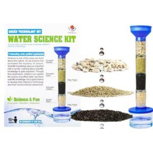 Zestaw Doświadczalny Filtracja Wody Filtr Piaskowy