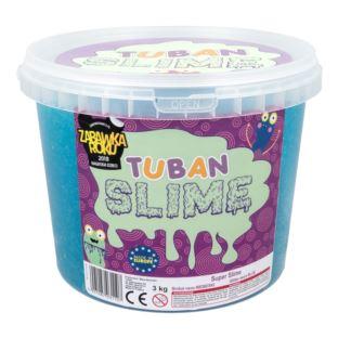 Tuban - Super Slime – brokat neon niebieski 3 kg