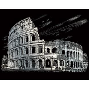 """STANDARD Wydrapywanka srebrna """"Koloseum"""""""