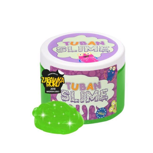Tuban - Super Slime – brokat neon zielony 0,5 kg