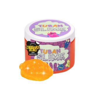 Tuban - Super Slime – brokat neon pomarańcz 0,5kg