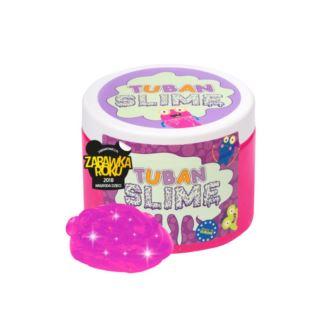 Tuban - Super Slime – brokat neon różowy 0,5 kg
