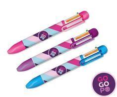 GoGoPo Długopis sześciokolorowy.