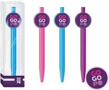 GoGoPo Długopis logo.