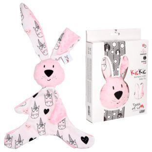 Hencz Toys - Królik Kic Kic Różowy