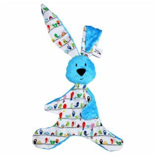 Hencz Toys - Królik Kic Kic Niebieski
