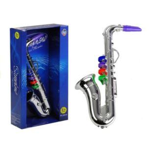 Instrument Muzyczny Saksofon Srebrny