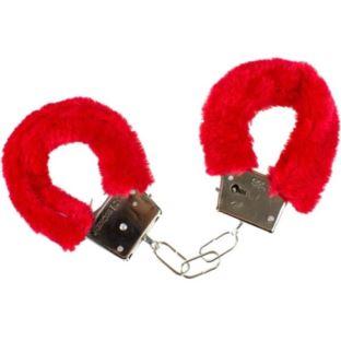 Kajdanki pluszowe 6 kolorów futerko