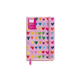 Notes z gumką 90x140 gładki PINK RAIN Agatha Ruiz