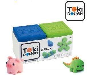 Toki Dough - 2-PACK (Niebieski i Zielony)