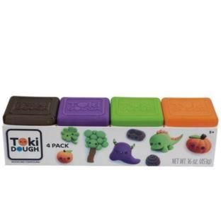 Toki Dough - 4-PACK (Brąz,Fiolet,Zieleń,Pomarańcz)