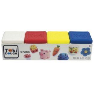 Toki Dough - 4-PACK (Niebies,Żółty,Czerwień,Biały)