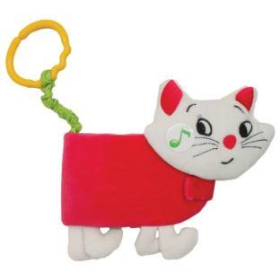 Hencz Toys - Miękka książeczka Kot