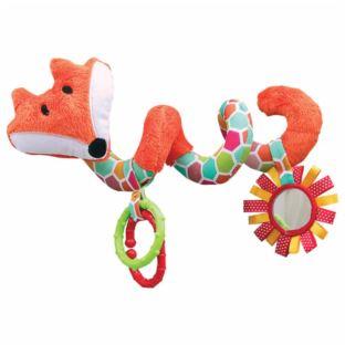 Hencz Toys - Grzechotka na wózek pomarańczowa