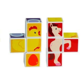 Magnetyczna Układanka Dla Dzieci Zwierzątka 4 Ele