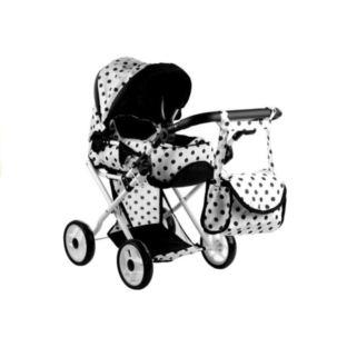 Wózek dla lalek Alice Głęboki, Nosidło, Torba, Poś