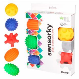 Hencz Toys - Piłeczki sensoryczne 5 szt w pudełku