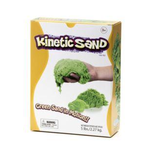 KINETIC SAND 2,27 kg ZIELONY