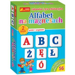 RANOK Alfabet na magnesach