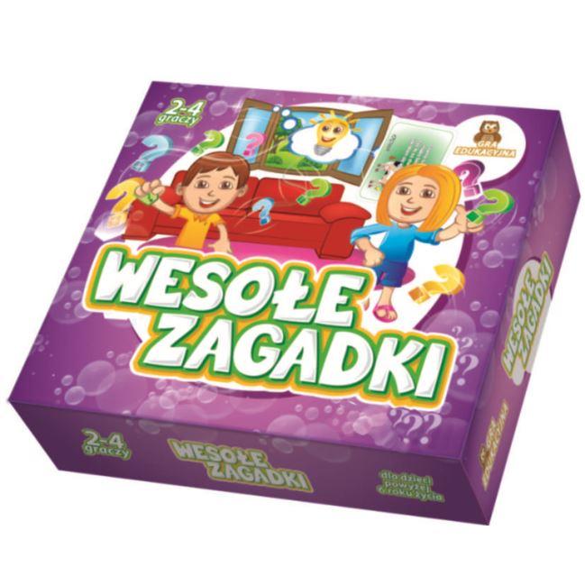 """FAN """"GRA EDUKACYJNA - Wesołe Zagadki"""""""