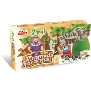 """FAN """"GRY PLANSZOWE - 2 SZTUKI Piramida Faraona"""""""