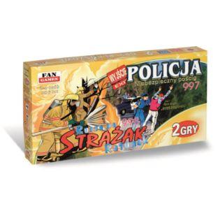 """FAN """"GRY PLANSZOWE - 2 SZTUKI Policja + Strażak"""""""