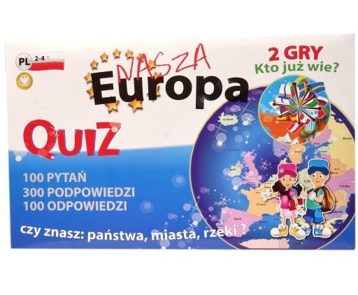 """FAN """"QUIZ 2 Gry - Europa"""""""