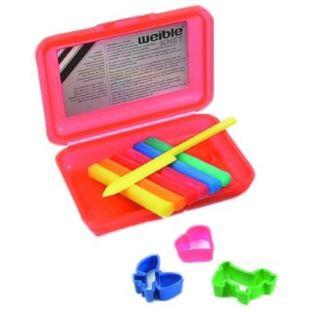 PLASTOLINKA Pastel mini klik-pudełko 6w+akcesoria