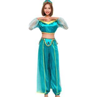 HARRI kostium ksieżniczki Jasmine lampa Alladyna