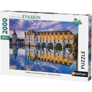 NATHAN - 87880 Zamek Chenonceau - 2000 puzli