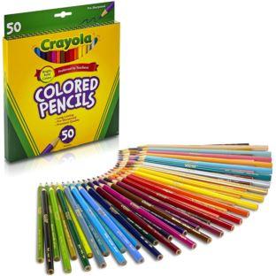 Crayola Kredki Ołówkowe Dla Dzieci 50 Szt
