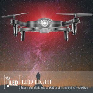 Dron Pengrui z podwójną kamerą HD 1080P składany