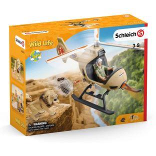 SCHLEICH 42476 Śmigłowiec do ratowania zwierząt