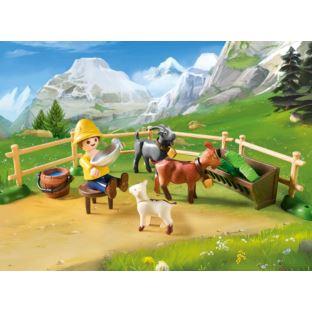 PLAYMOBIL Heidi 70255 Zagroda dla kóz