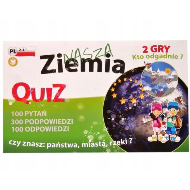 """FAN """"QUIZ 2 Gry - Ziemia"""""""