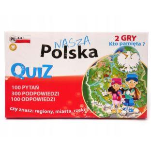 """FAN """"QUIZ 2 Gry - Polska"""""""