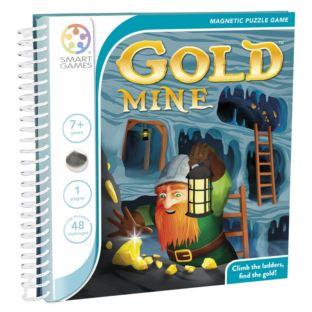 SMART GAMES - (magnetyczna) Kopalnia złota