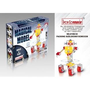 IC Metalowy Robot Gosposia 96 części
