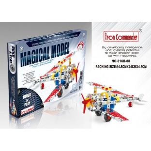 IC Metalowy Samolot 190 części