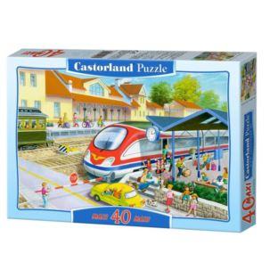 Puzzle 40el. Maxi Dworzec CASTORLAND