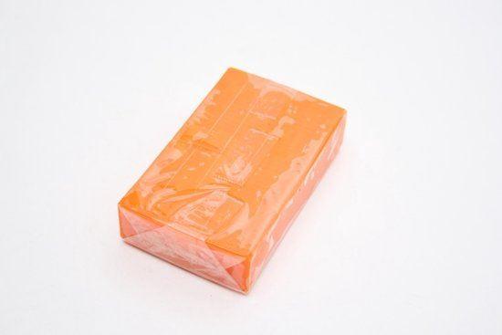 PLASTOLINKA Pomarańczowa kwadratowa 100g