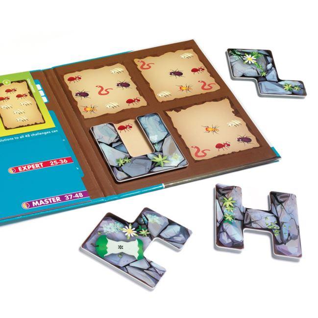 SMART GAMES - (magnetyczna) Robaczki