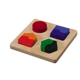 Plansza z kształtami dopasowania Plan Toys