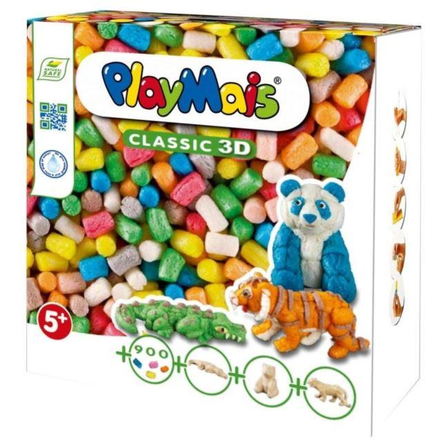 PlayMais Classic 3D Dzikie zwierzęta