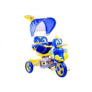 Rower Trójkołowy Kaczka Niebieski Dla Dzieci Rower