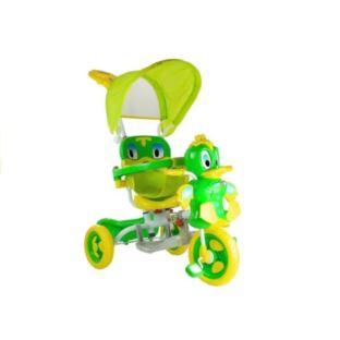 Rower Trójkołowy Kaczka Zielony Dla Dzieci Rowerek