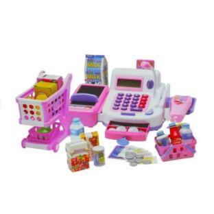 Kasa Sklepowa Fiskalna z Kalkulatorem + Akcesoria