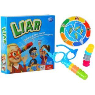 Gra Rodzinna Kłamczuch + Okulary z Noskiem