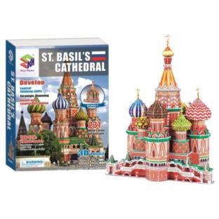 Puzzle 3D Sobór w Moskwie 231 PCS