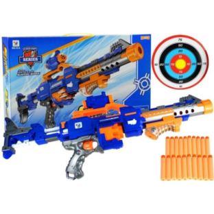 Pistolet Na Strzałki piankowe Przyssawki Światło